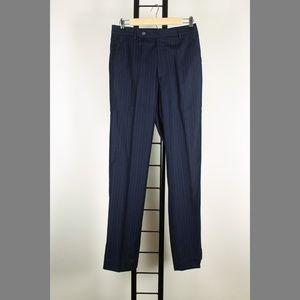 Denis Parkar Suits & Blazers - Denis Parkar 36S 29x32 Flat Navy Suit 97-Y